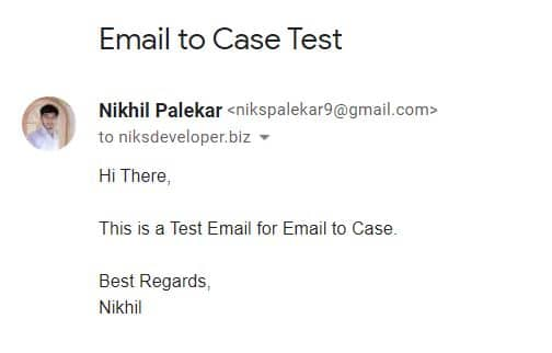 Email to Case in Salesforce
