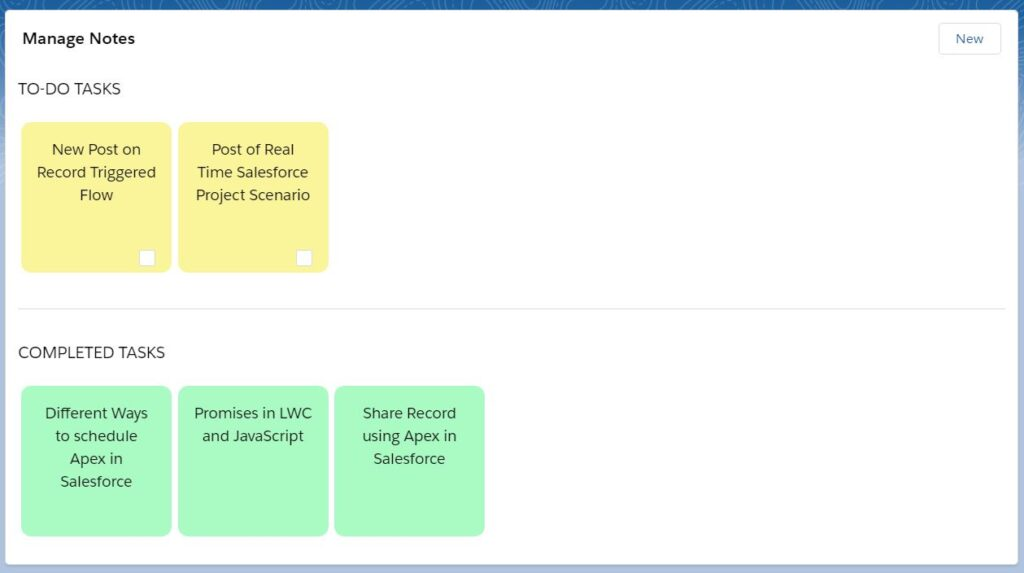 Salesforce Real Time Project Scenario: To-Do Task Management in Lightning
