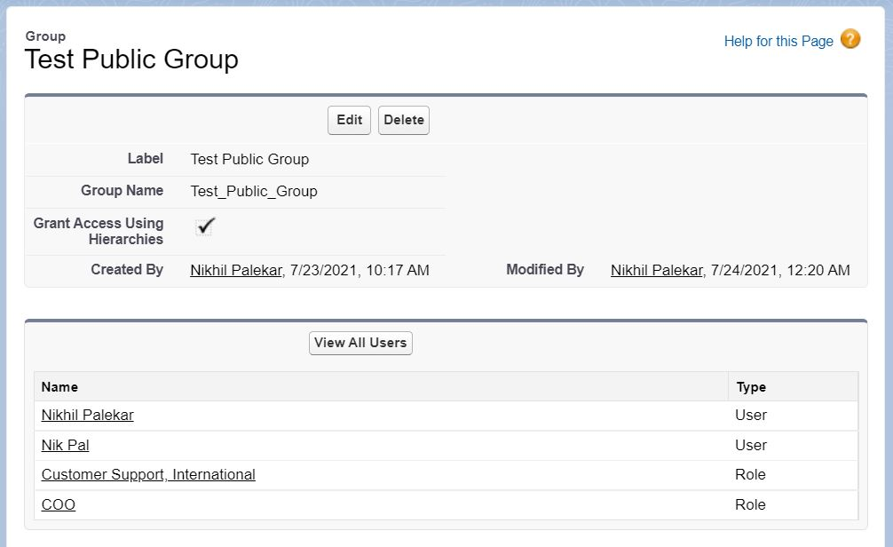 Query Users from Public Group in Apex